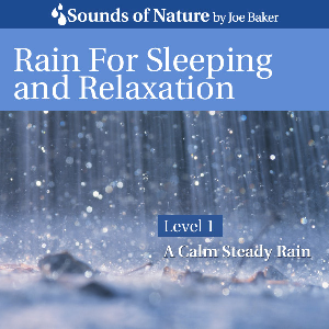 rain for sleeping and relaxation by joe baker
