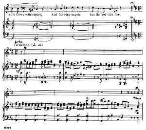 a love like mine... when first i saw my lovely maid. recitative and aria for alto/countertenor. g.f.haendel: susanna, hwv 66. vocal score. schirmer anthology of sacred song: alto. (m. spicker). ed. schirmer