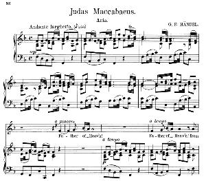 father of heav'n! from thy eternal throne. aria for alto/countertenor (priest). g.f.haendel: judas maccabaeus, hwv 63. vocal score. schirmer anthology of sacred song: alto. (m. spicker). ed. schirmer