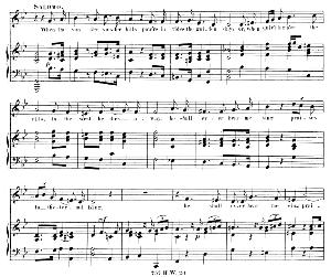 When the sun o'er yonder hills. Aria for Alto/Countertenor (Solomon). G.F.Haendel: Solomon, HWV 67. Vocal Score (G.Gervinus), Ed. Peters, PD | eBooks | Sheet Music