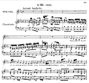 perish the thought!...nations, who in future story... recitative and aria for alto (mezzo) (othniel). g.f.haendel: joshua, hwv 64. vocal score (g.gervinus), ed. peters, pd