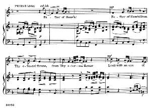 father of heav'n! from thy eternal throne. aria for alto/countertenor (priest). g.f.haendel: judas maccabaeus, hwv 63. vocal score, ed. schirmer  (f. van der stucken). 1908. pd.