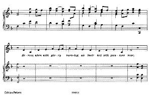heroes, when with glory burning. aria for alto or countertenor (priest). g.f.haendel: joshua, hwv 64, vocal score. in english. gesange für eine frauenstimme (h. roth), ed. peters, 1915.