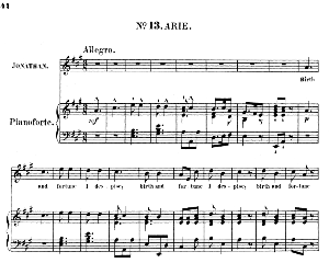 birth and fortune i despise. aria for tenor (jonathan). (g.f.haendel: saul, hwv 53.vocal score (g.gervinus), ed. peters  (1925)