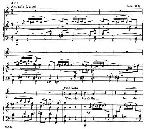 He that dwelleth in heaven...Thou shalt break them. Recitative and Aria for Tenor. G.F.Haendel: Messiah HWV 56.  Vocal Score. Schirmer Anthology of Sacred Song: Tenor. (M. Spicker). Ed. Schirme | eBooks | Sheet Music