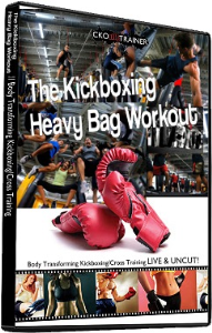 the kickboxing heavy bag workout: 4