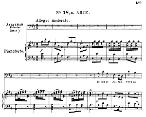 Ye men of Judah, weep no more. Aria for Bass (Priest: Abiathar). G.F.Haendel: Saul, HWV 53.Vocal Score (G.Gervinus), Ed. Peters (1925) | eBooks | Sheet Music