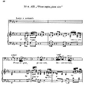 Not vain is all this storm of grief…Pious orgies, pious airs. Recitative and Aria for Bass (Simon). G.F.Haendel: Judas Maccabaeus, HWV 63. Vocal Score, Ed. Schirmer  (F. Van der Stucken). 1908. | eBooks | Sheet Music