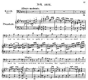 Oh Joshua, both to rule...O first in wisdom, first in pow'r. Recitative and Aria for Bass (Caleb). G.F.Haendel: Joshua, HWV 64. Vocal Score (G.Gervinus), Ed. Peters | eBooks | Sheet Music