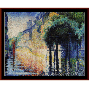 venice - cross cross stitch pattern by cross stitch collectibles