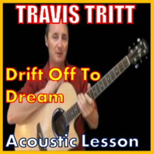 learn to play drift off to dream by travis tritt