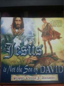 jesus is not the son of david