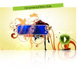 Ornamental Retro Style | Software | Software Templates