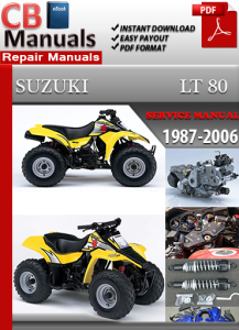 suzuki lt 80 1987-2006 service repair manual