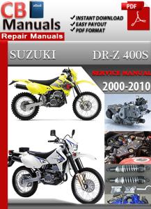 Suzuki DR Z 400 S 2000-2010 Service Repair Manual | eBooks | Automotive