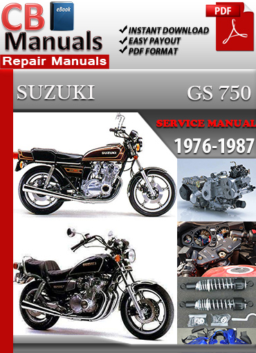 suzuki gs 750 1976 1987 service repair manual ebooks automotive rh store payloadz com 1977 Suzuki GS 750 78 Suzuki GS750 Parts