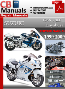 Suzuki GSX 1300 Hayabusa 1999-2009 Service Repair Manual | eBooks | Automotive