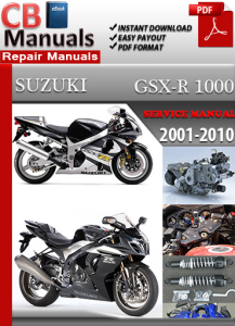 suzuki gsx r 1000 2001-2010 service repair manual