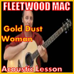 learn to play gold dust woman by fleetwood mac