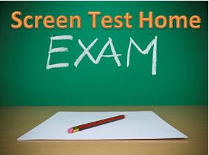 screen test home
