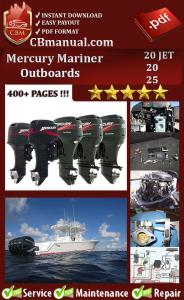 Mercury Mariner 20 JET 20 25 Service Repair Manual | eBooks | Automotive