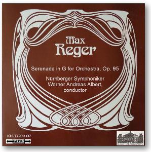 reger: serenade for orchestra, op. 95