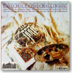 baroque music for french horn and orchestra