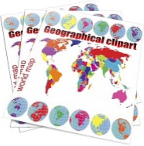 world maps, usa maps, usa flags, geographical/passport stamps clipart