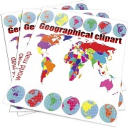 World maps, USA maps, USA flags, Geographical/passport stamps clipart | Photos and Images | Clip Art