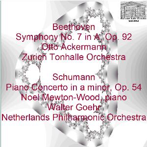 beethoven: symphony no. 7/schumann: piano concerto