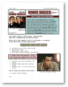 donnie brasco, whole-movie english (esl) lesson