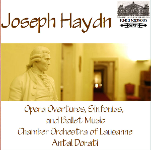 haydn: overtures & sinfonias - chamber orchestra of lausanne/antal dorati