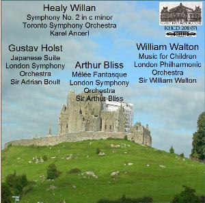 music by bliss/holst/walton/willan