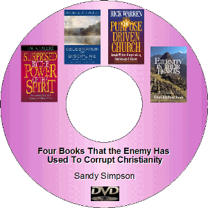 four books that the enemy has used to corrupt christianity - dvd