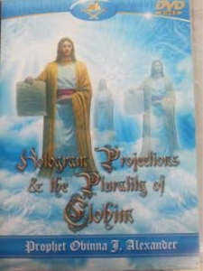 hologram projection and the plurality of elohim