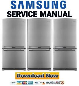 samsung rb196acrs refrigerator original service manual download