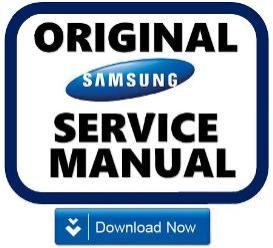 samsung rt50fbsl refrigerator original service manual download