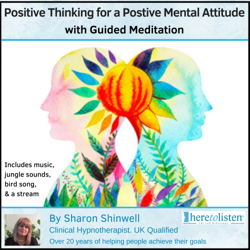 First Additional product image for - Guided Meditation for Positive Thinking,Positive Mental Attitude