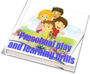 preschool play and learning drills collection