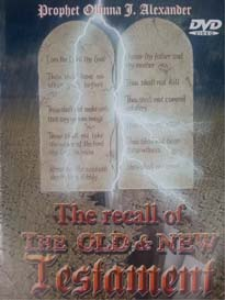 the recall of the old and new testament