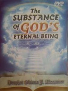 the substance of god's eternal being