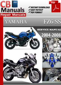 Yamaha FZ6 2004-2008 Service Repair Manual | eBooks | Automotive