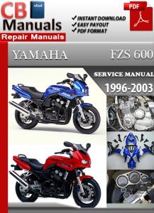 Yamaha FZS 600 1996-2003 Service Repair Manual | eBooks | Automotive