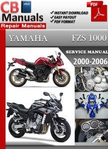 Yamaha FZS 1000 2000-2006 Service Repair Manual | eBooks | Automotive