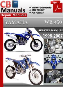 Yamaha WR 450 1998-2007 Service Repair Manual | eBooks | Automotive