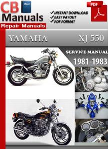 yamaha xj 550 1981-1983 service repair manual
