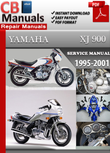 Yamaha XJ 900 1995-2001 Service Repair Manual | eBooks | Automotive