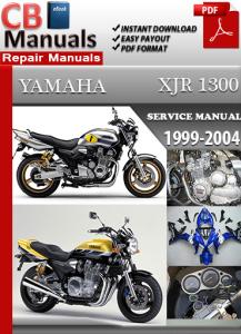 Yamaha XJR 1300 1999-2004 Service Repair Manual | eBooks | Automotive