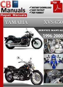 Yamaha XVS 650 1996-2000 Service Repair Manual | eBooks | Automotive