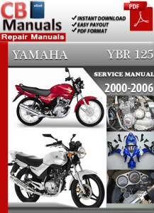 Yamaha YBR 125 2000-2006 Service Repair Manual | eBooks | Automotive
